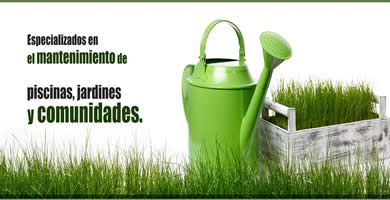 Cuidado de Jardínes y Piscinas<br>